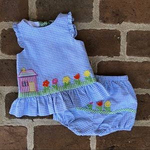 Florence Eiseman Top & Bloomers! Looks New!!!